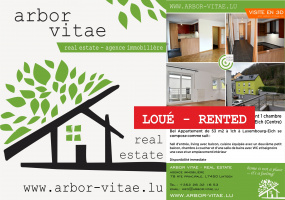 Luxembourg, 2336, 1 Bedroom Bedrooms, ,Apartment,For Rent,Montée Pliate,1008