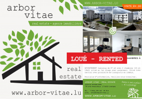 Belvaux, 4408, 2 Bedrooms Bedrooms, ,Apartment,For Rent,Platon,rue de Waasertrap,1,1003