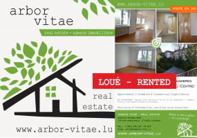 Luxembourg, 1226, 2 Bedrooms Bedrooms, ,Apartment,For Rent,Jean Pierre Beicht,1,1007
